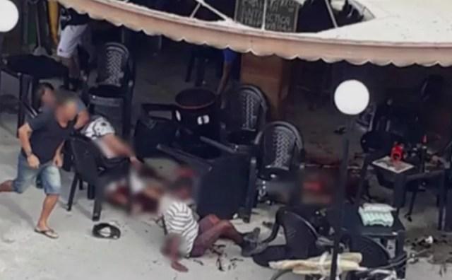 Ataque a bar em Queimados, no RJ, deixou dois mortos e seis feridos na última semana (Foto: Reprodução)