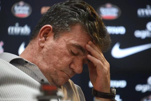 Andrés Sanchez, presidente do Corinthians, tenta equilibrar as contas do clube (Foto: Antonio Cícero / Photopress / Estadão Conteúdo)