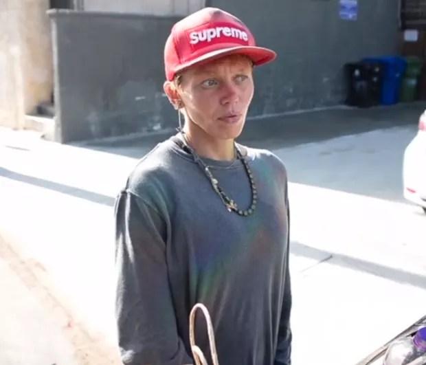 Loni Willison atualmente, morando na rua (Foto: The Sun)