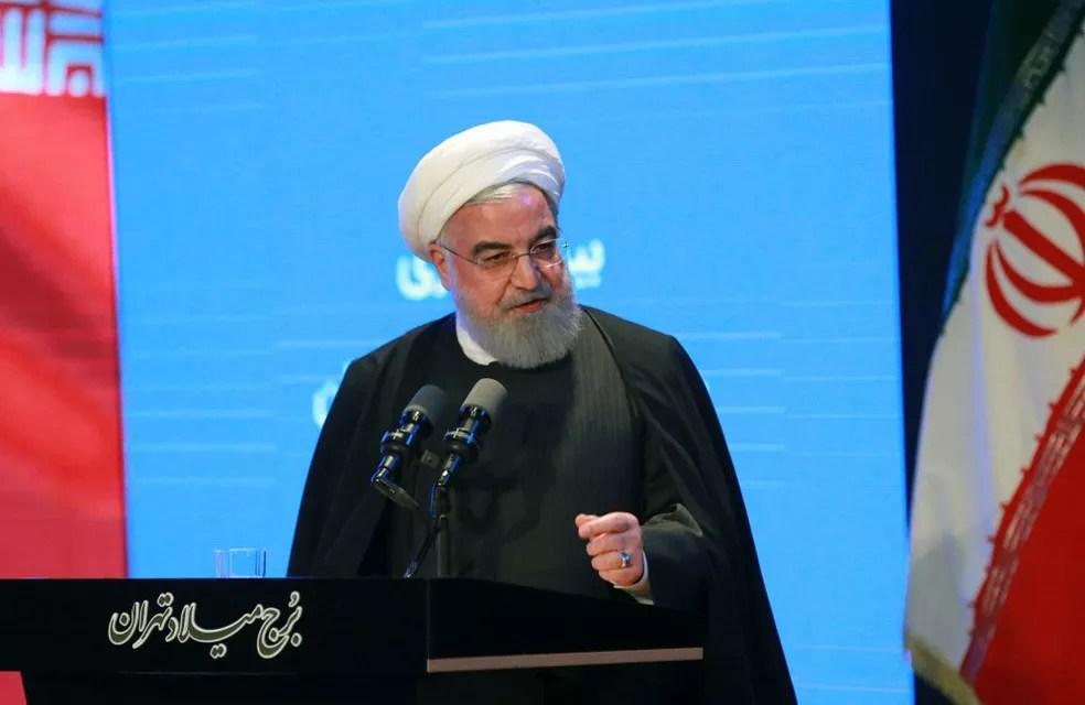 Presidente iraniano, Hassan Rouhani, em imagem de arquivo — Foto: Presidência Irã / AFP