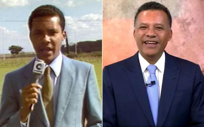 Heraldo Pereira foi repórter da EPTV Campinas e atualmente está na TV Globo Brasília/Globonews. — Foto: Arte/G1