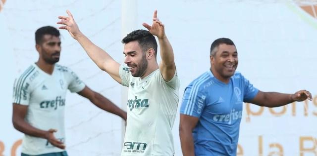 Bruno Henrique marcou nove gols na atual temporada (Foto: Cesar Greco / Ag. Palmeiras)