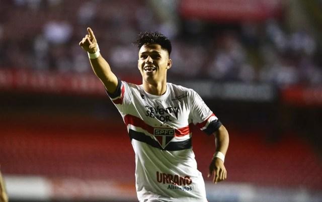 Luiz Araújo deverá se despedir do São Paulo na partida deste domingo, contra a Ponte (Foto: Marcos Ribolli)