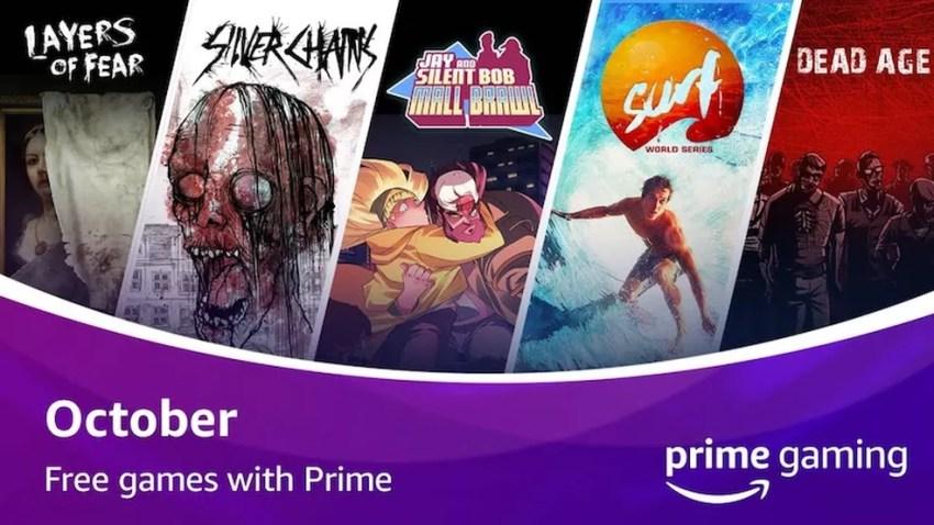 Cinco jogos, sendo três em clima de dia das bruxas, embalam os lançamentos de outubro do Prime Gaming — Foto: Divulgação/Amazon