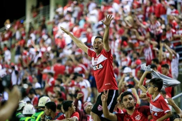 CRB conta com a presença dos sócios-torcedores no jogo de sábado — Foto: Ailton Cruz/Gazeta de Alagoas