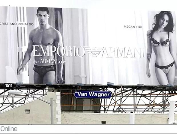 Cristiano Ronaldo Megan Fox Daily Mail (Foto: Site Daily Mail)