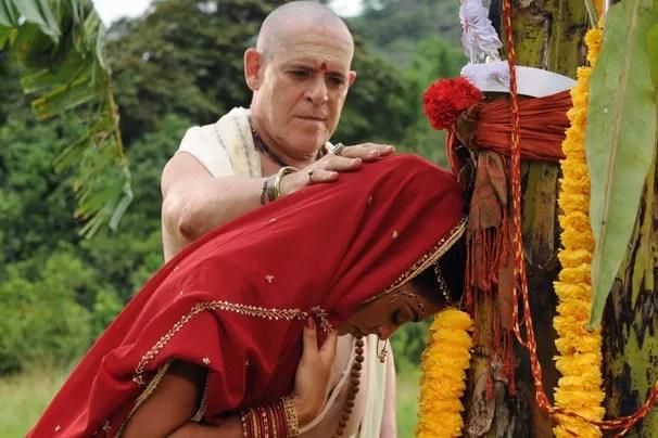 Resultado de imagem para india casamento com arvore