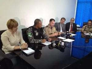 Reunião de órgãos de segurança definiu estratégias de fiscalização (Foto: Edvaldo Dondossola/RBS TV)