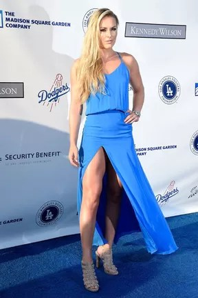 Esquiadora Lindsey Vonn em evento beneficente em Los Angeles, nos Estados Unidos (Foto: Frazer Harrison/ Getty Images/ AFP)
