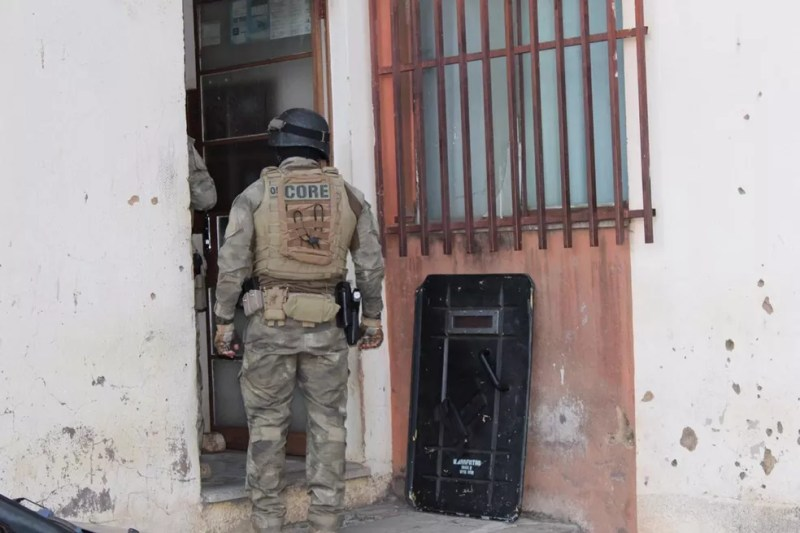 Força-tarefa realiza operação contra tráfico de drogas e lavagem de dinheiro em 19 estados e no DF — Foto: Polícia Civil de Minas Gerais/Divulgação