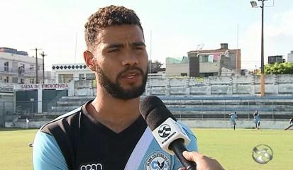 Zagueiro Alisson foi formado no Porto (Foto: Reprodução / TV Asa Branca)
