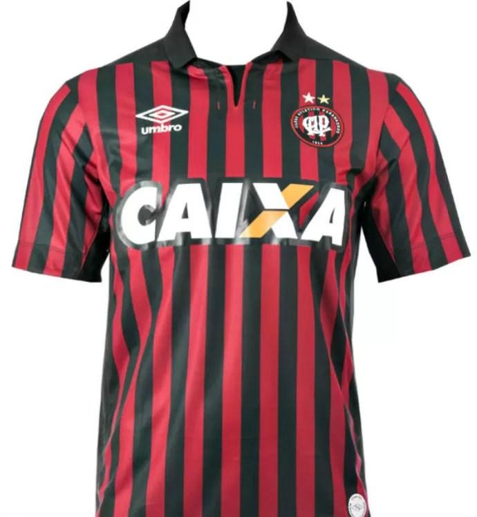 camisa atlético-pr (Foto: Divulgação/Atlético-PR)