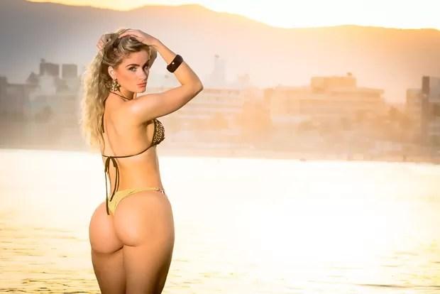 Novo ensaio sensual de participantes Miss Bumbum - Luciana Beltrame - Amapá (Foto: Nelson Miranda / MBB6)