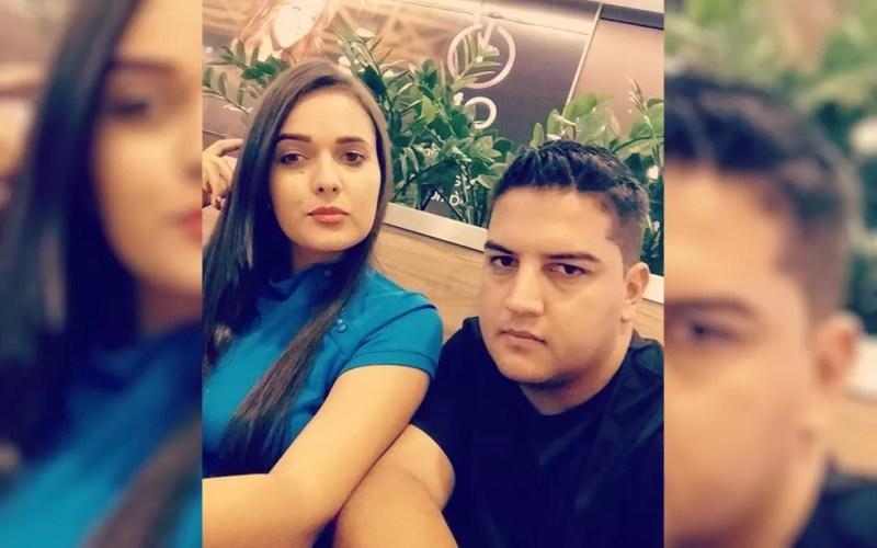 Segundo polícia, Yone Novais foi morta pelo ex, Alexandre Assis; em seguida, ele foi morto por amigo (Foto: TV Anhanguera/Reprodução)