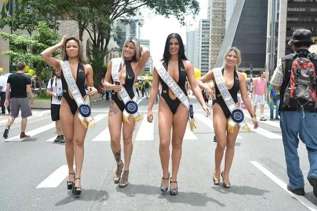Musas do Brasil (Foto: Eduardo Graboski/ Divulgação)