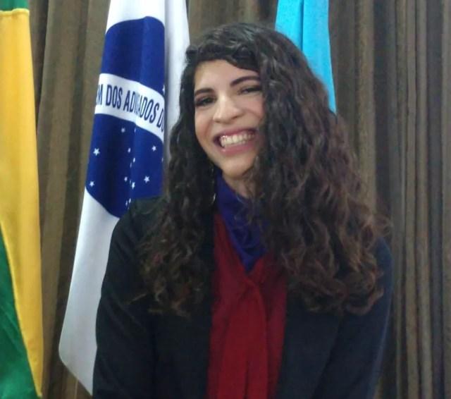 Maitê Ferreira quer fazer projeto de assessoria jurídica — Foto: Ivanúcia Lopes