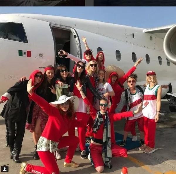 Cara Delevingne viaja para o México com 9 amigas para comemorar seus 25 anos (Foto: Reprodução Instagram)