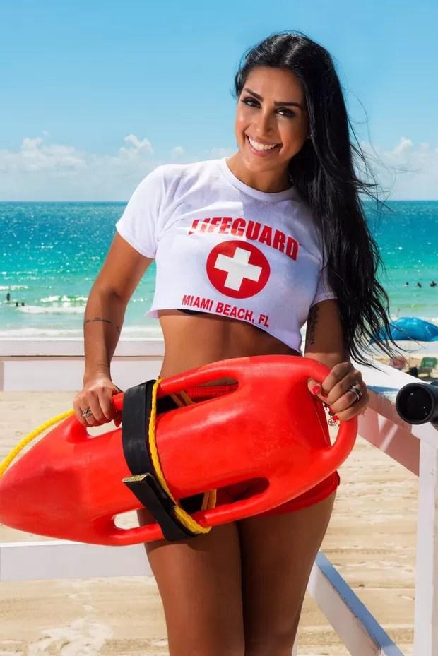 Amanda Djehdian em Miami (Foto: Cristina Ulla/Linkphoto)