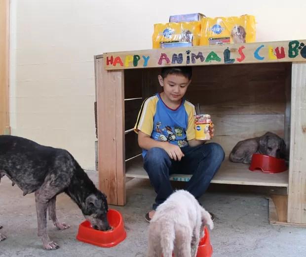 The Happy Animals Club começou na garagem de Ken (Foto: Divulgação)