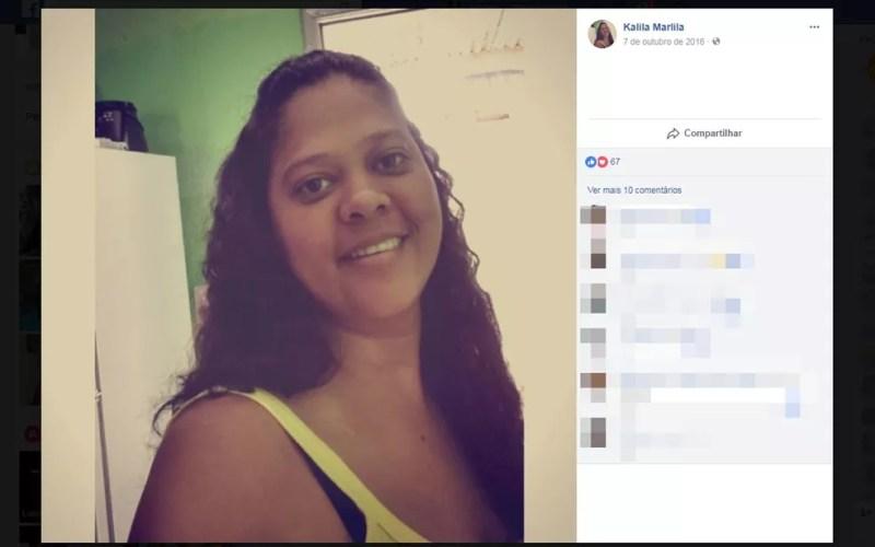 Filha de prefeito da cidade de Almadina. Kalila Cerqueira, morreu em acidente entre motos (Foto: Reprodução/ Facebook)