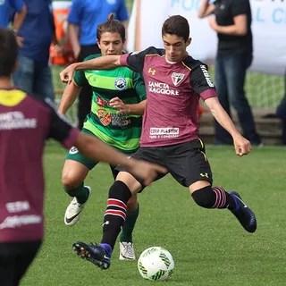Shaylon São Paulo x Boca Raton (Foto: Rubens Chiri / saopaulofc.net)