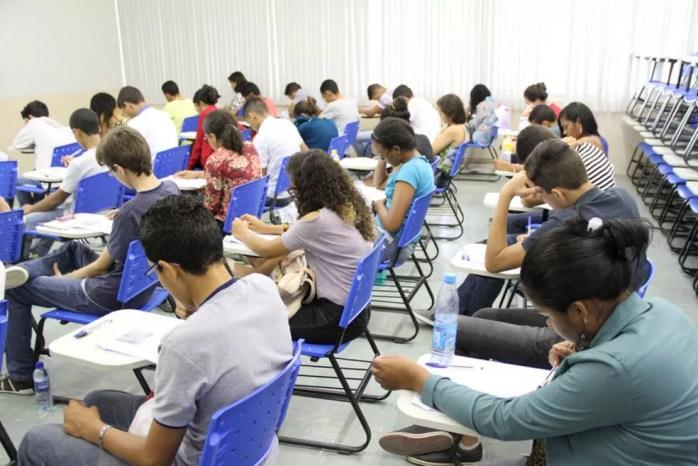Segundo IFPE, dia de provas transcorreu com tranquilidade — Foto: Gil Aciolly/IFPE/Divulgação