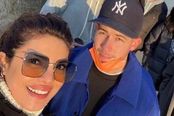 Priyanka Chopra and Nick Jonas (Photo: Reproduction/ Instagram)