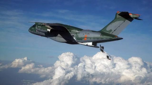 KC-390 é o maior avião já produzido no Brasil — Foto: Embraer/Divulgação