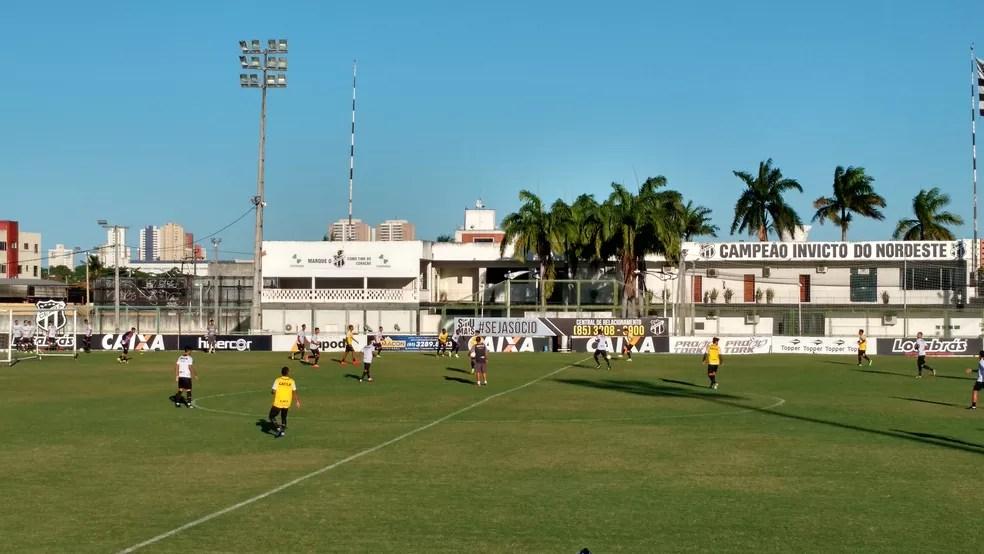 Ceará, treino (Foto: Juscelino Filho)