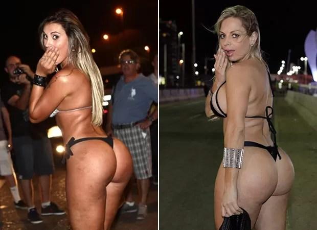 Andressa Urach e Jéssica Lopez no Rock in Rio