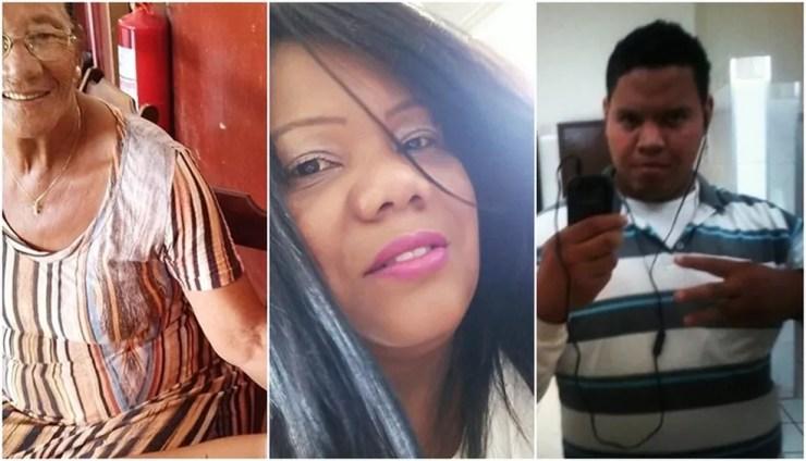 Avó, mãe e neto morreram após diagnóstico de coronavírus em Guapiaçu  — Foto: Reprodução/Facebook