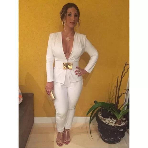Valesca Popozuda exibe look usado em prêmio no Rio (Foto: Instagram/ Reprodução)