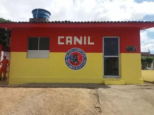 Canil do Corpo de Bombeiros de Alagoas é inaugurado, em Maceió (Foto: Suely Melo/ G1)