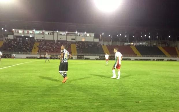 Boa Esporte vence o Ceará em Varginha (Foto: Brenno Beretta / EPTV)