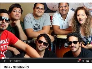 Netinho (Foto: Reprodução/Youtube)