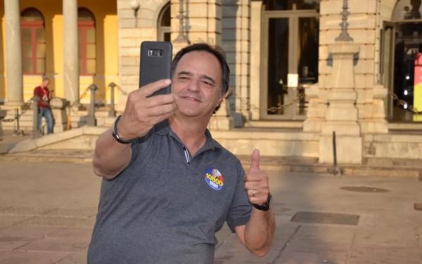 Mauro Tramonte disse que em retribuição aos votos recebidos vai trabalhar para o povo — Foto: Ramon Damásio/Divulgação