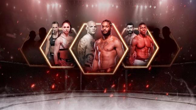 Ariane Lipski, Ryan Spann e Joaquin Buckley são favoritos no UFC neste fim de semana — Foto: Infoesporte