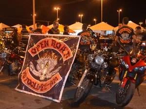 82 Moto Clubes participaram do 7º Encontro de Motos de Alta Cilindrada, em RR (Foto: Natacha Portal/G1)