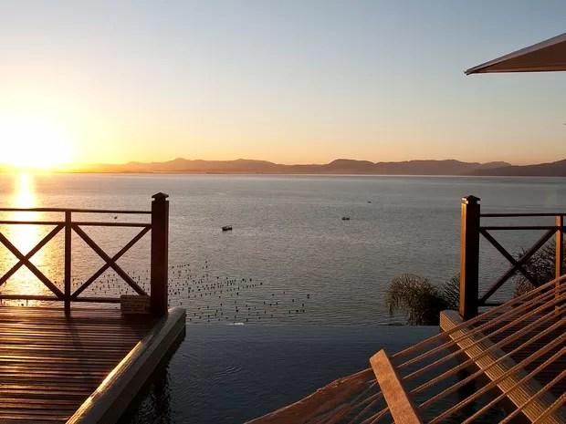 Resort fica localizado em uma península particular em Governador Celso Ramos (Foto: Ponta dos Ganchos Resort/Divulgação)