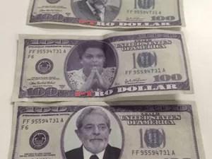 Resultado de imagem para lula dilma dólares