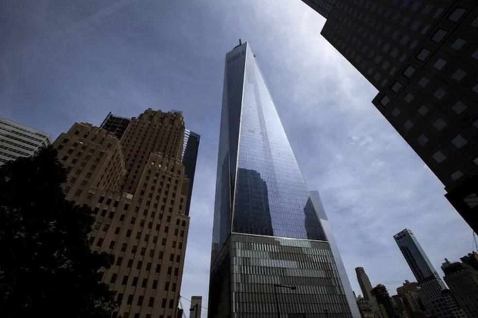 One World Trade Center, em Nova York (EUA) — Foto: Eduardo Munoz/Reuters
