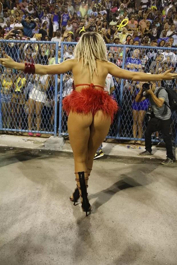 Fernanda Lacerda, a Mendigata (Foto: Daniel Pinheiro/AgNews)
