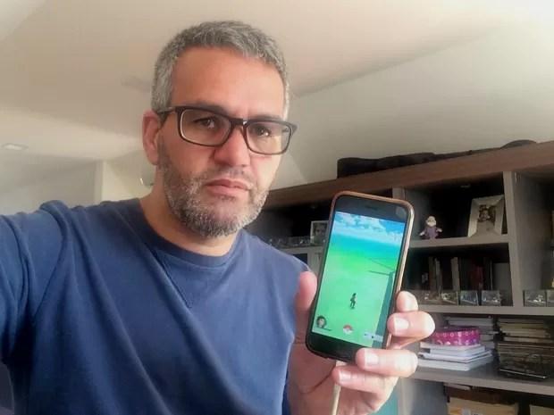 Rogério Oliveira criou tour para caça de pokémons (Foto: Arquivo Pessoal/Rogério Oliveira)