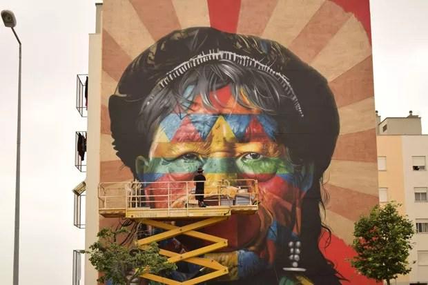 Três roteiros para quem quer ver um pouco da arte urbana que invade Lisboa. (Foto: CML | DMC | DPC | Bruno Cunha 2017 )