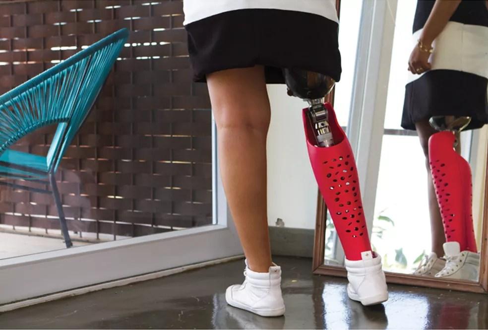 Projeto brasileiro de capas coloridas para próteses ganhou bronze em Cannes (Foto: Divulgação)
