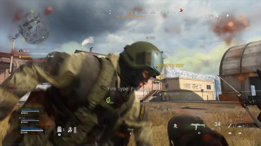 Call of Duty Warzone: jogadores descobrem bug e vencem fora da batalha — Foto: Reprodução/Rafael Monteiro