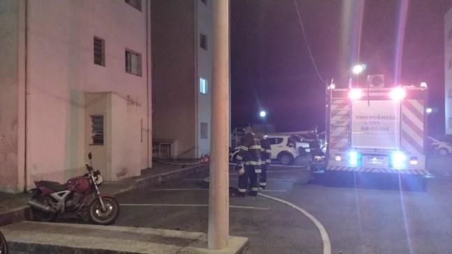 Bombeiros salvam gato e hamster de incêndio em Mairinque — Foto: Prefeitura de Mairinque/Divulgação