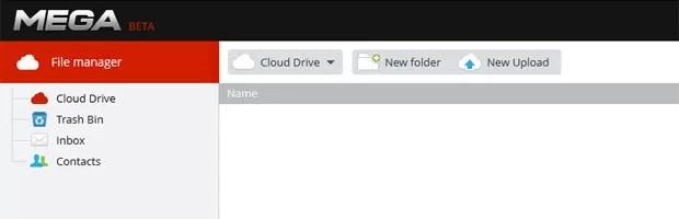 Novo serviço 'Mega', do Dotcom, tem inclusive recurso de e-mail (Foto: Reprodução)
