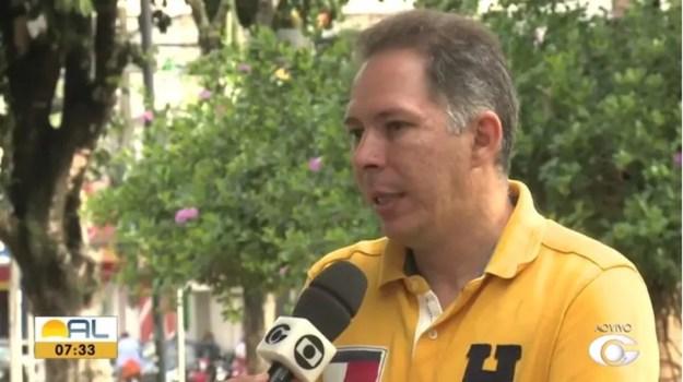 Celso Marcos ficará no cargo até setembro — Foto: Reprodução/TV Gazeta