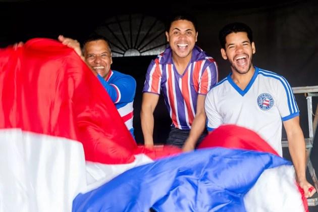 Peça sobre o Esporte Clube Bahia (Foto: Diney Araújo/Divulgação)